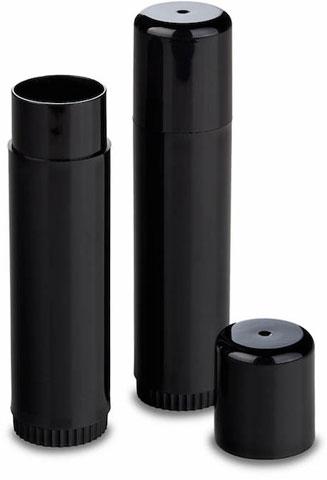0.5 oz Black Round Lotion Bar Tube Set - Dial Up