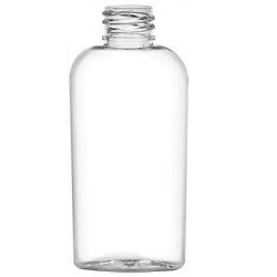 2 oz Cosmo Oval Bottle: Clear