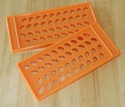 Lip Balm Filling Tray: Oval Lip Tubes