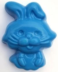 Bunny Soap Mold: 4 Cavity