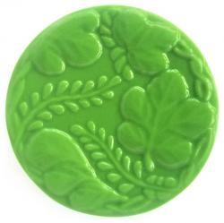 Circle Leaves Soap Mold: 4 Cavity