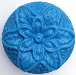 Flower in Bloom Soap Mold: 4 Cavity