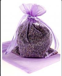 5x8 Organza Bag, Lavender