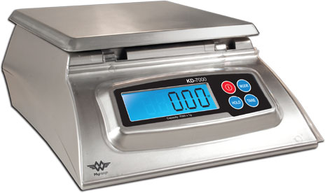 My Weigh KD7000 (7kg/15.4lb) Scale: Silver